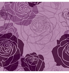 Seamless flower 02 vector image