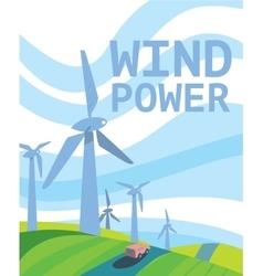 Clean Energy Power vector image