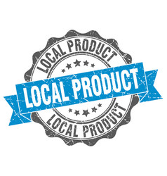 local product stamp sign seal vector image vector image