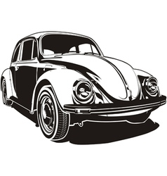 VW bug vector image vector image