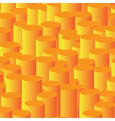 Orange column background vector