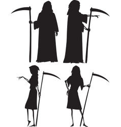 Grim reapers vector