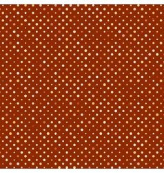 Polka dot old scratch pattern retro styled vector