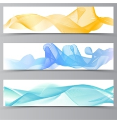 Abstract colorful transparent vector image