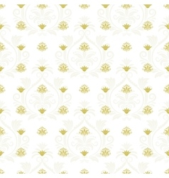 Ornamental lace floral endless texture vector