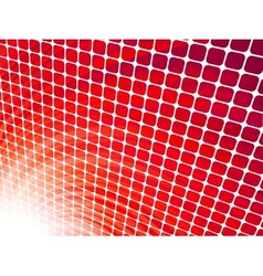 Red rays light 3D vector image