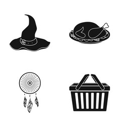 Accessories cafe restaurant and other web icon vector