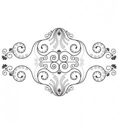 decorative border vector image vector image
