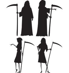 Grim reapers vector