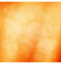 Soft orange abstract background vector image vector image