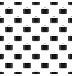 Suitcase pattern simple style vector image