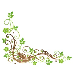 Leaves autumn spring vector