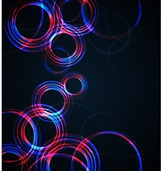 Abstract Circles vector image vector image