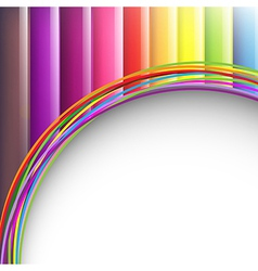 Colorful Background With Paper vector image vector image