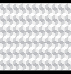 Cubic seamless pattern background vector