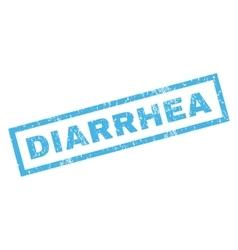 Diarrhea Rubber Stamp vector image vector image