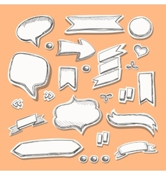 Hand drawn sketch vector image vector image