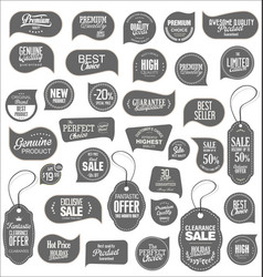 modern sale stickers collection 5 vector image