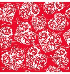 Romantic texture vector image vector image