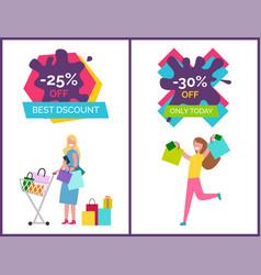 -25 off best discounts today vector