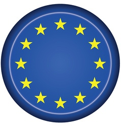 Badge eu flag vector