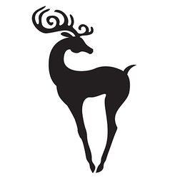 Beauty deer vector