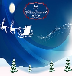 Festive background for new year vector