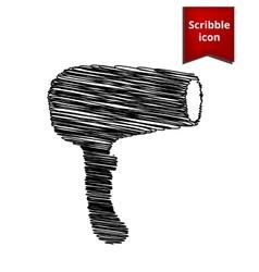 Hair dryer hairdresser symbol vector