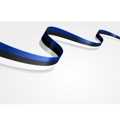 Estonian flag background vector image