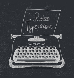 hand drawn doodle retro black ans white vector image