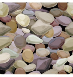 stones pattern vector image vector image