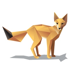 Satnding fox vector