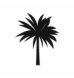 Palm icon simple style vector