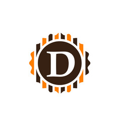 Best quality letter d vector