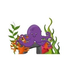 Octupus icon sea life design graphic vector