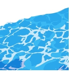 Water surface background caustic texture vector image