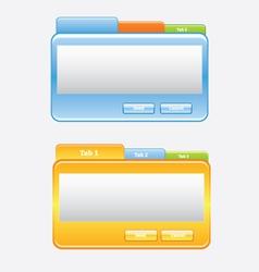 Media frame vector image
