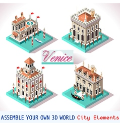 Venice 02 tiles isometric vector