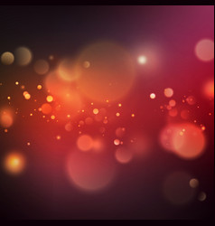 abstract color bokeh background eps 10 vector image vector image
