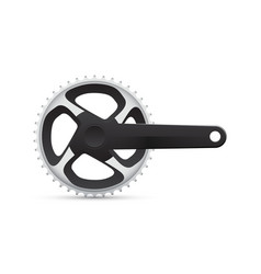 bicycle crank vector image