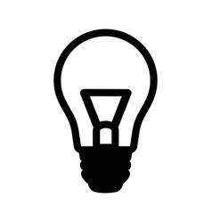 black lump icon vector image