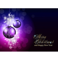 Elegant merry christmas background vector