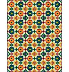 Spanish mosaic vector image