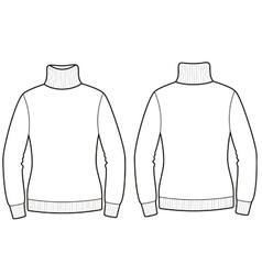 Sweater vector