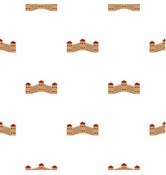 Majestic great wall of china pattern seamless vector