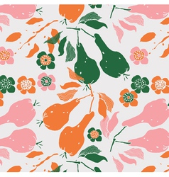 fruit art print vector image vector image