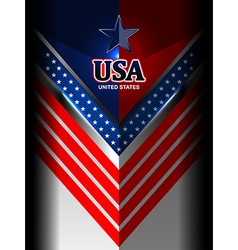 America flag color backgrounds vector
