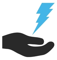Electric service hand eps icon vector