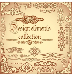 Design elements collection vector