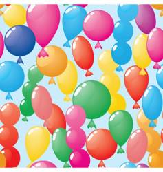 abstract balloons background seamless vector image